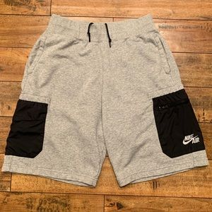 Nike Air cargo sweat shorts